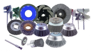 De-burring brushes